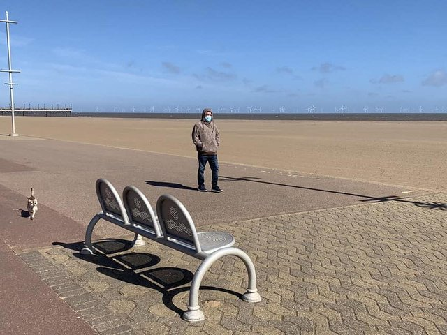 It's a sunny start to the weekend in Skegness.