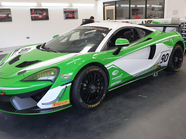 The new additions will drive the #90 570S GT4.