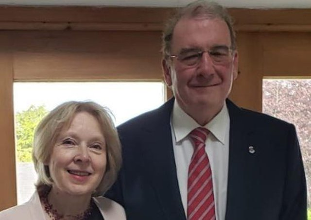 Gill and Andrew Campbell, Hearing Ambassadors EMN-210426-221552001