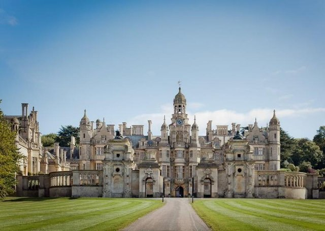 Opening to the public in May - Harlaxton Manor. EMN-210427-150902001
