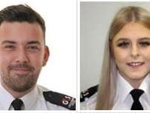 Deputy Head of Force Control Room Allan Steele and Call-Taker Caitlin Brumby have been nominated for awards.