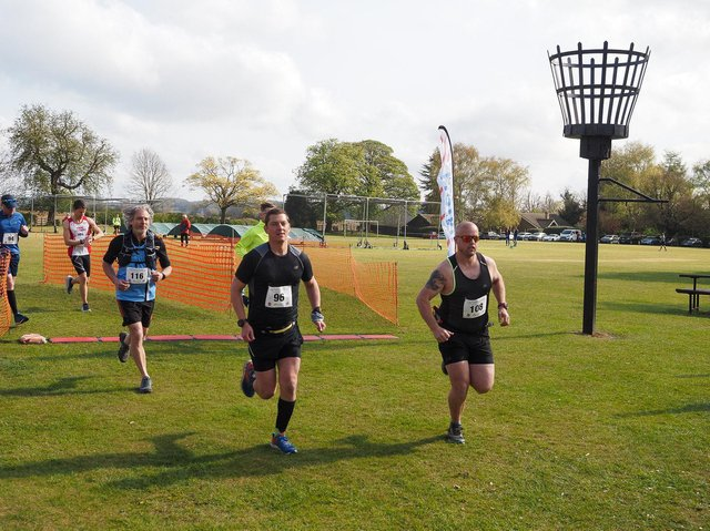Caythorpe Dash half marathon 2021. Photos: Richard Hall