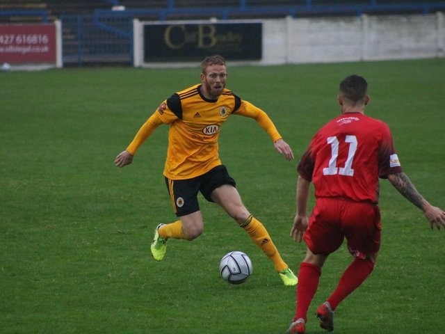 Boston began last season with an FA Cup win against AFC Mansfield. Photo: Oliver Atkin
