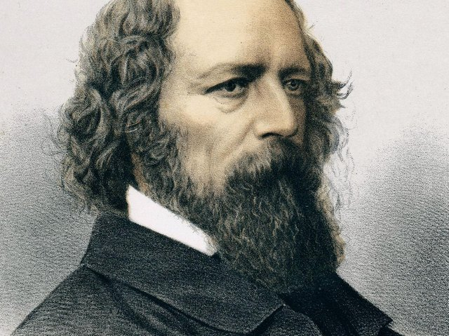 Alfred, Lord Tennyson, lithograph published in The Modern Portrait Gallery, 1890. Photos.com/Getty Images Plus
