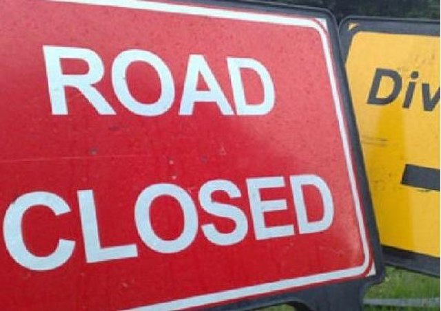 Part of the A158 will be closed overnight for resurfacing