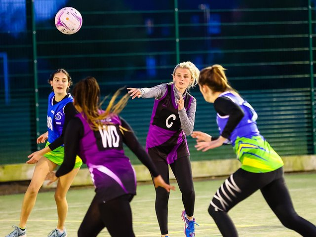 Boston Netball League players took part in a kickstart session. Photo: David Dales