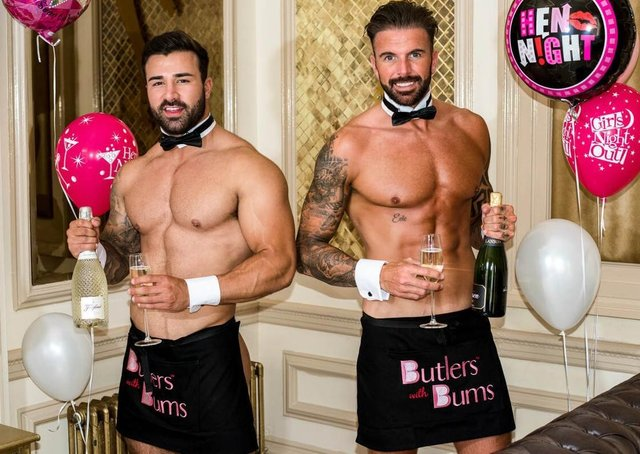 Butlers With Bums are looking for new talent in Lincolnshire to fulfl a shortage of naked butlers. EMN-210405-151034001