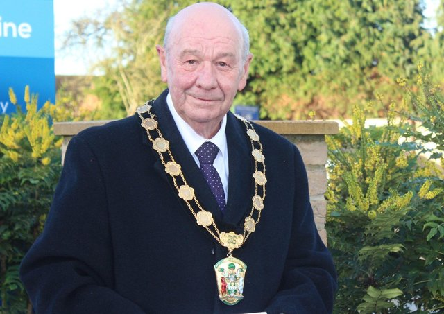 Chairman of West Lindsey District Council, Coun Steve England