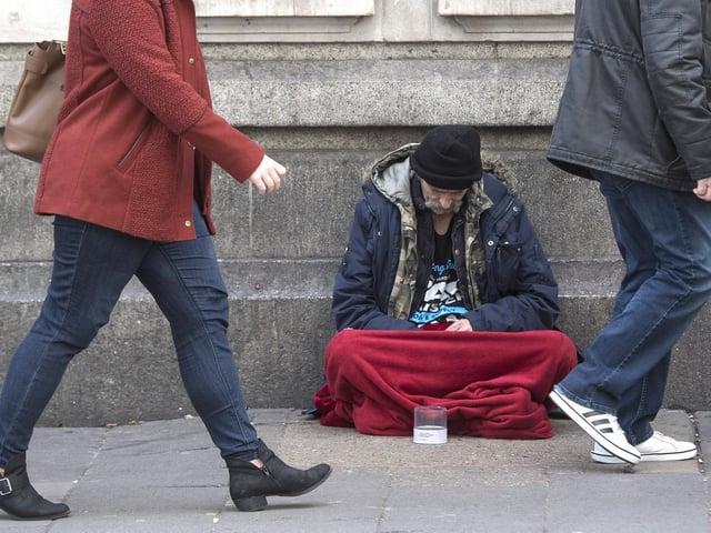Homeless or at risk households in focus (phot: Victoria Jones)