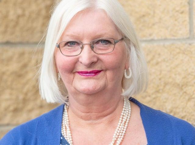 Coun Julie Sadler - newest member of Skegness Town Council.