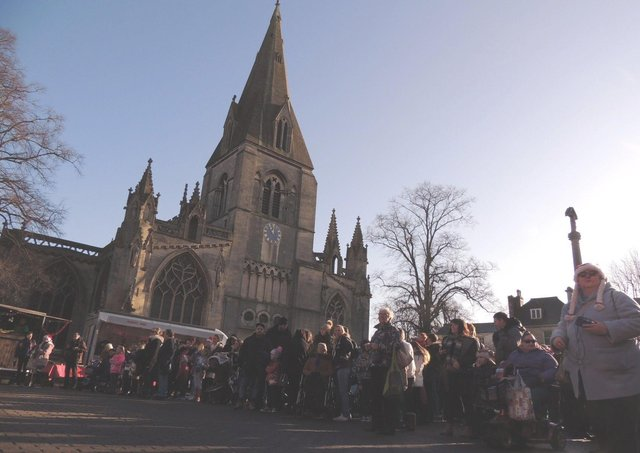 Sleaford Christmas Market in 2019. it will now not take place for another year. EMN-210513-143841001