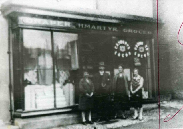 Martyr Grocers and Drapers, South Street, Caistor