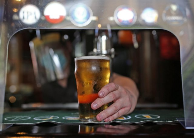 Cheers! West Lindsey residents gave local pubs a much-needed boost on Monday