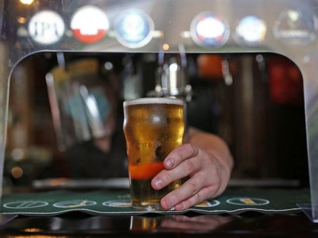 North East Lincolnshire pub-goers drink up to 123 pints per minute on Monday