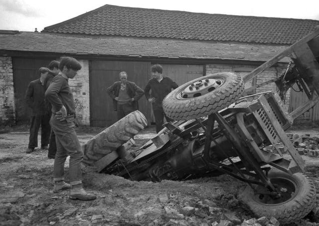 The scene near Haven Bridge in 1966.