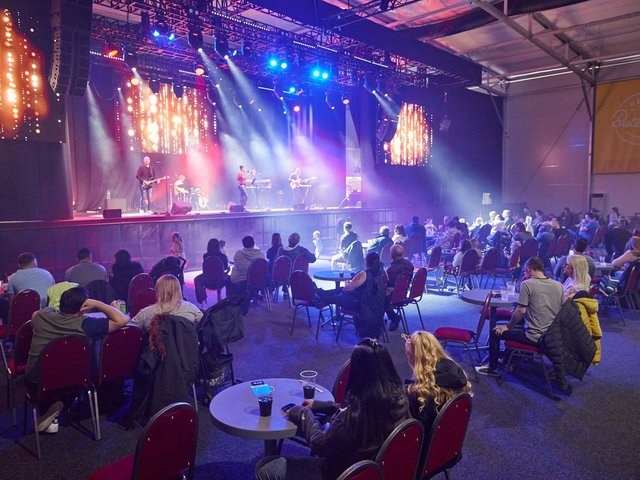 Stage is set for the summer - watching live entertainment in a Covid-safe environment at Butlin's in Skegness.