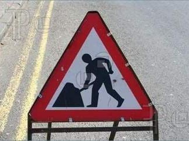 Roadworks to a stretch of the A158 near Lincoln have been postponed due to the wet weather.