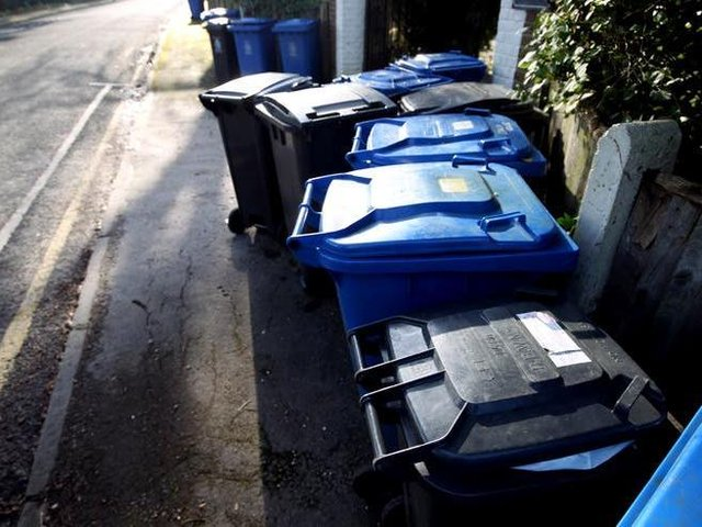 Bin collectors in West Lindsey picked up more rubbish in the early months of the Covid-19 pandemic than a year earlier, despite England seeing an overall drop in the amount collected.