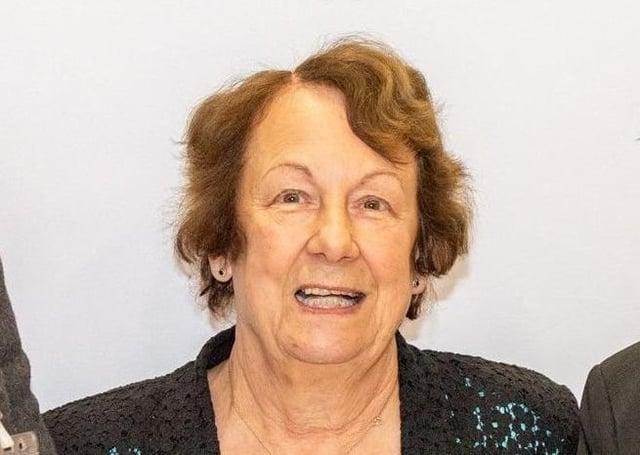 Town Mayor, Councillor Fiona Martin.