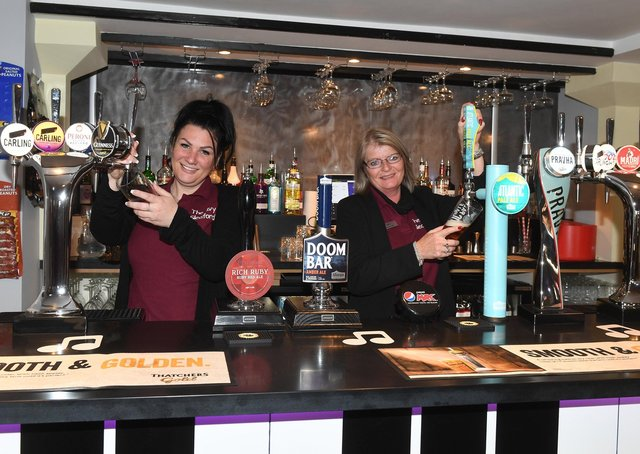 The Ivy opens in Sleaford. Managers L-R Emma Woods and Bev Sambridge. EMN-210528-093351001