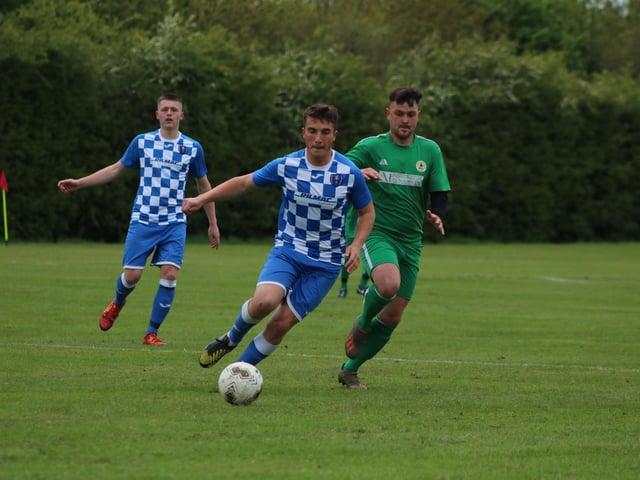 Louth drew 1-1 with Wyberton on Saturday. Photo: Oliver Atkin