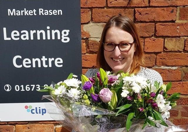 Katie Easey, who left CLIP last week