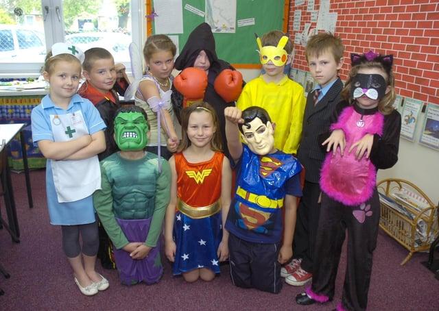 St Thomas' CofE Primary School, Boston, 10 years ago.