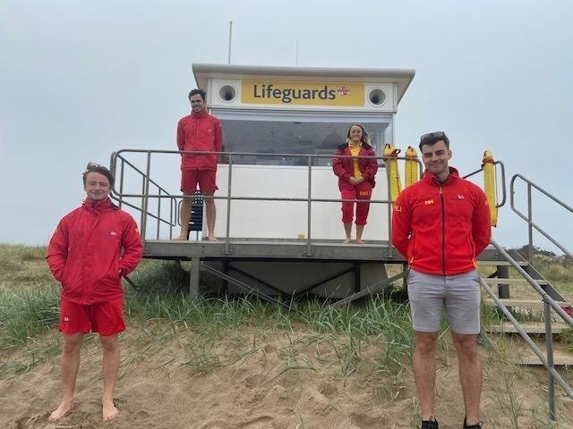 RNLI Lifeguards are returning to Skegness and Mablethorpe beaches this weekend.