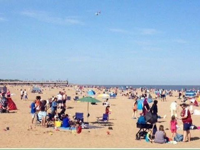 Visitors are expected to head to the coast for some sunshine this Bank Holiday.