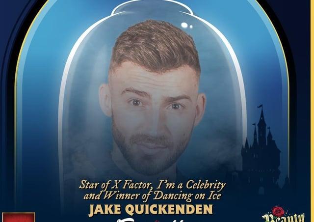 Jake Quickenden will play the baddie