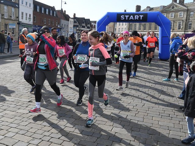 The last Boston Marathon in April 2019