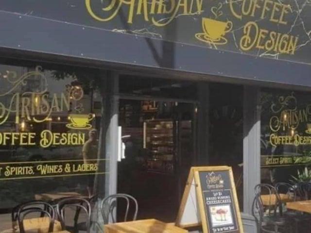 Artisan Cafe Design in Lumley Road, Skegness.