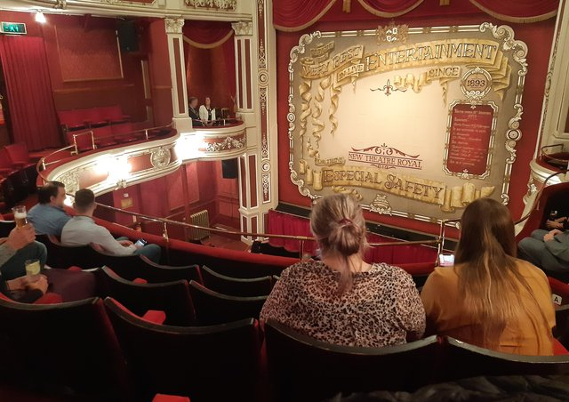 Socially distanced at Lincol New Theatre Royal EMN-210531-132159001