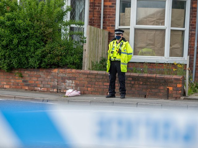 Police have launched a murder investigation. Photo: John Aron.