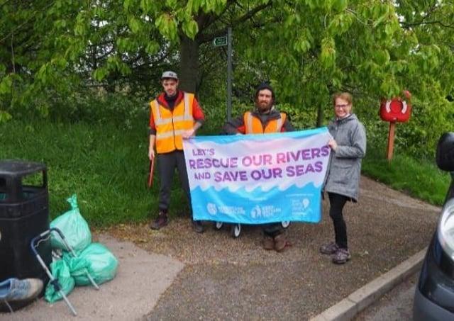 Louth RiverCare  volunteers met on May 22.