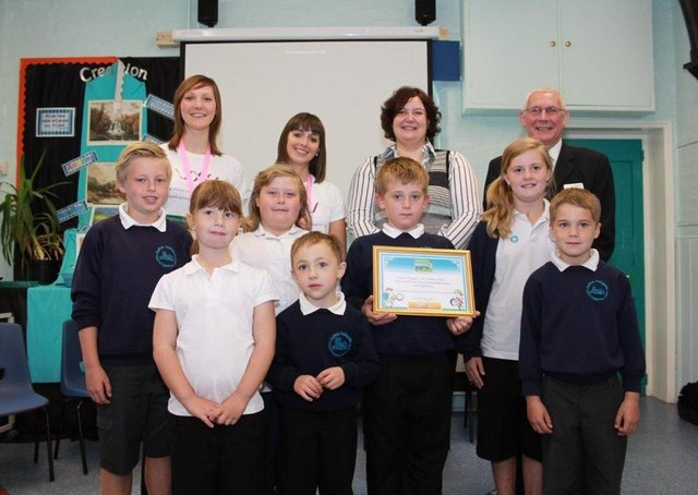 Halton Holegate Primary School 10 years ago.
