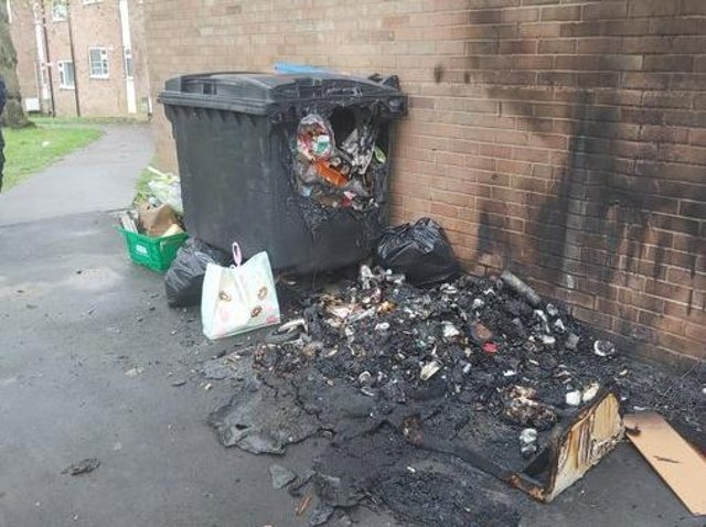 Fly-tipping is also a fire hazard say Lincolnshire Fire and Rescue.