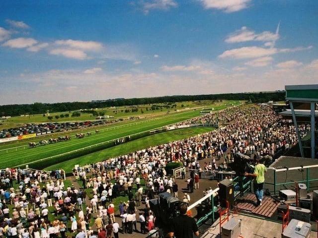 Market Rasen Racecourse.