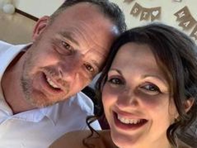Stagecoach East Midlands provided a busy for newly-wed North Hykeham couple Rosie and Foz.