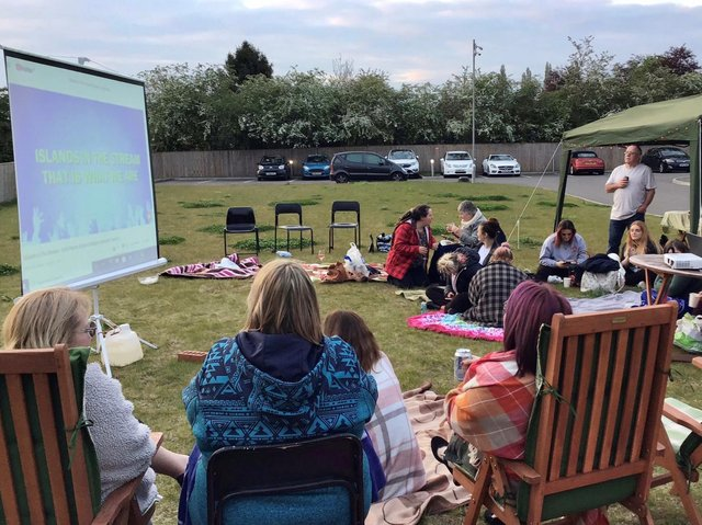Cloverleaf Care Home in Lincoln enjoy a wellness day.