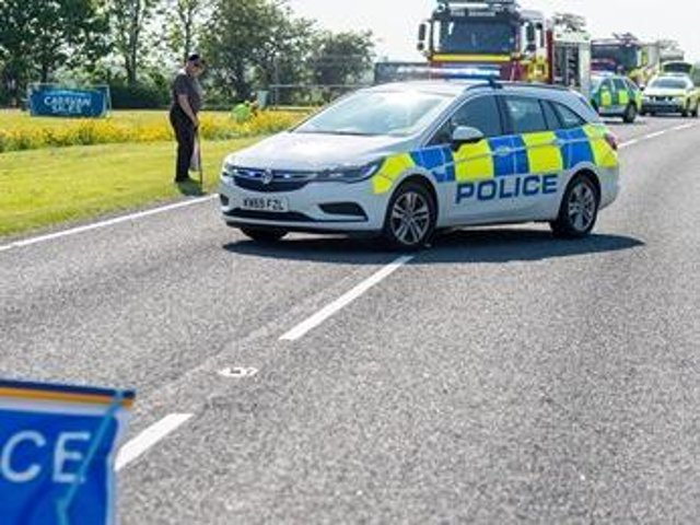 A man involved in a two-car collision on Marsh Lane,  Orby has sadly died.