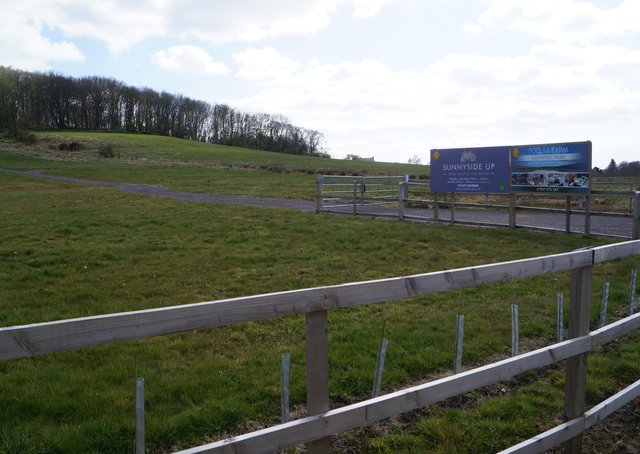 The site of the proposed development, with Hamilton Hill in the background. EMN-210528-131946001