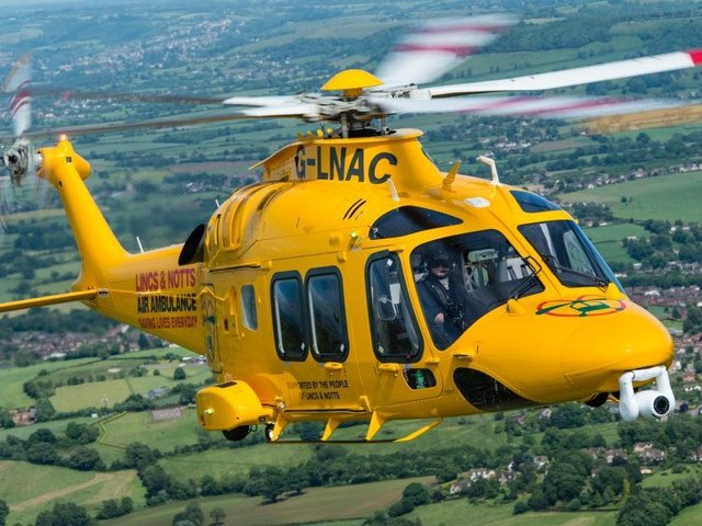 Lincolnshire and Nottinghamshire Air Ambulance were called to the scene.