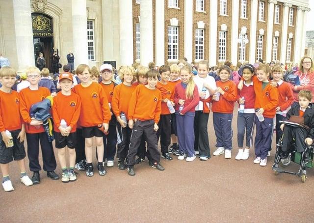 Leasingham St Andrew's CofE Primary School pupils.