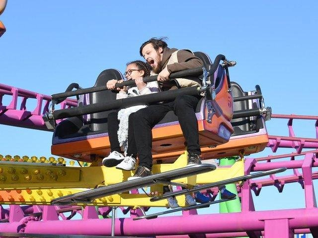 Dads can ride free at Fantasy Island in Ingoldmells for Father's Day.