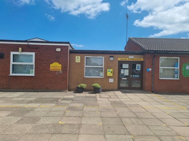 The Richmond School in Skegness went into lockdown due to an incident involving a disruptive child.