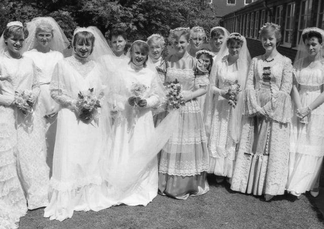 Kitwood Girls School in 1986.