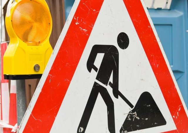 Roadworks are coming to the area. Library image