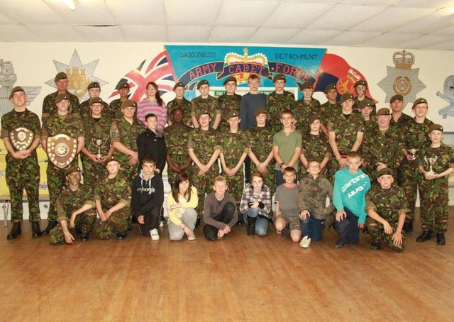 The 3 Company Skegness Detachment Army Cadet Force awards presentation event of 2011.