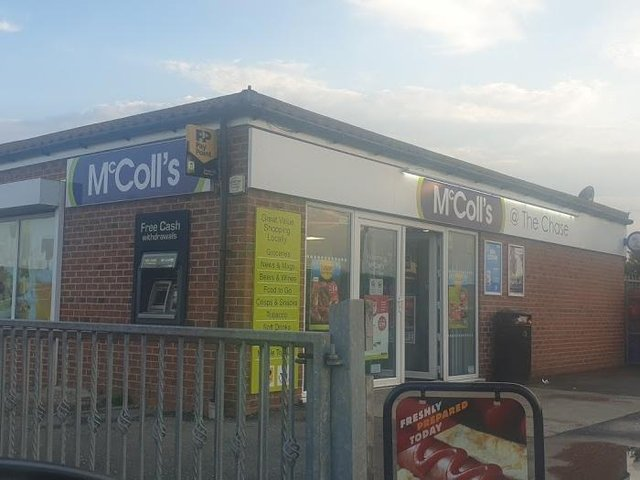 A quantity of cigarettes was stolen in a burglary at McColls in Ingoldmells.